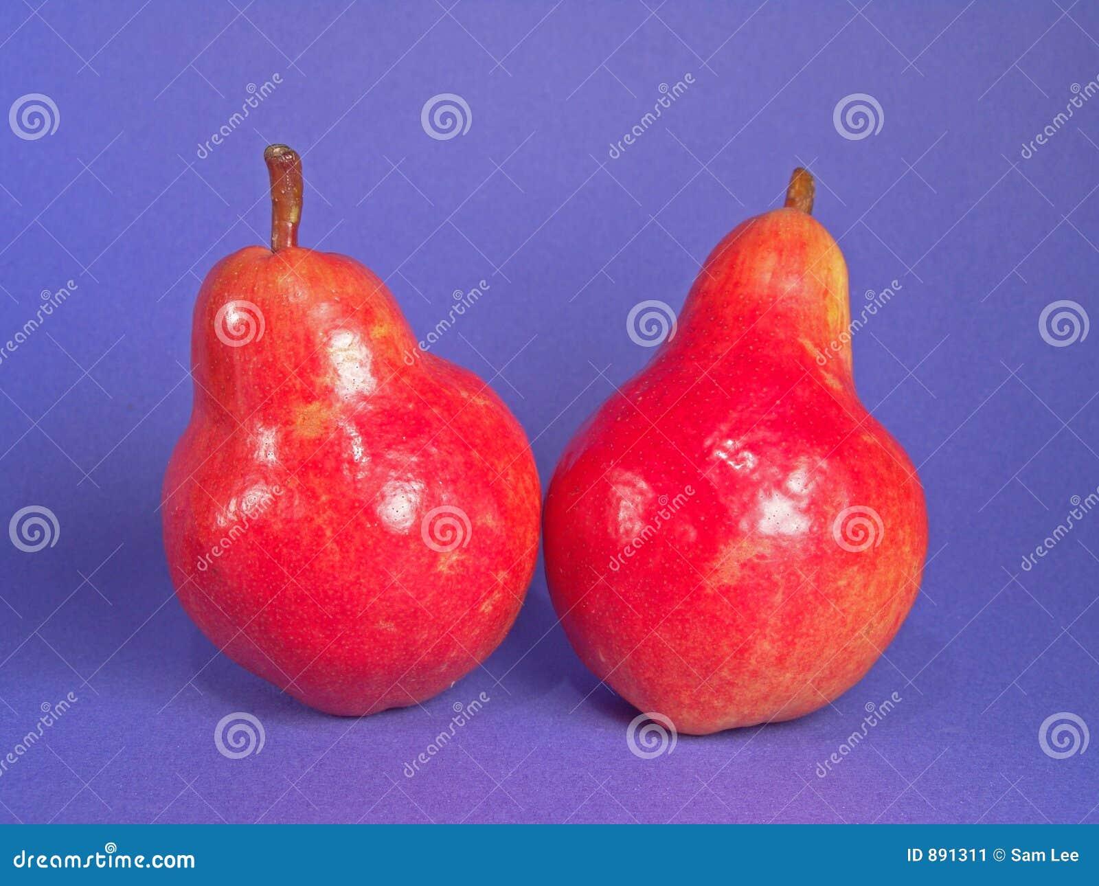 Gruszki organicznych czerwony 2