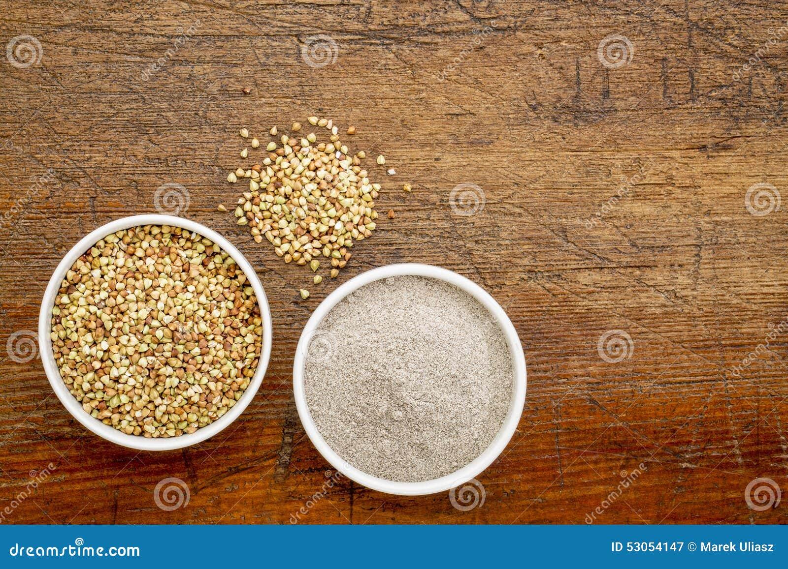 Gryki mąka i adra