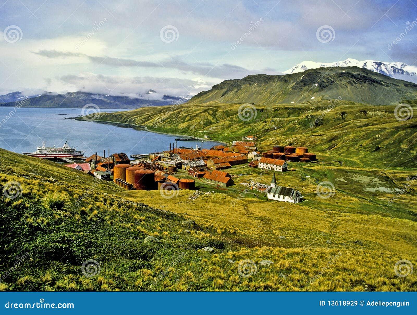 Grytviken, la Géorgie du sud