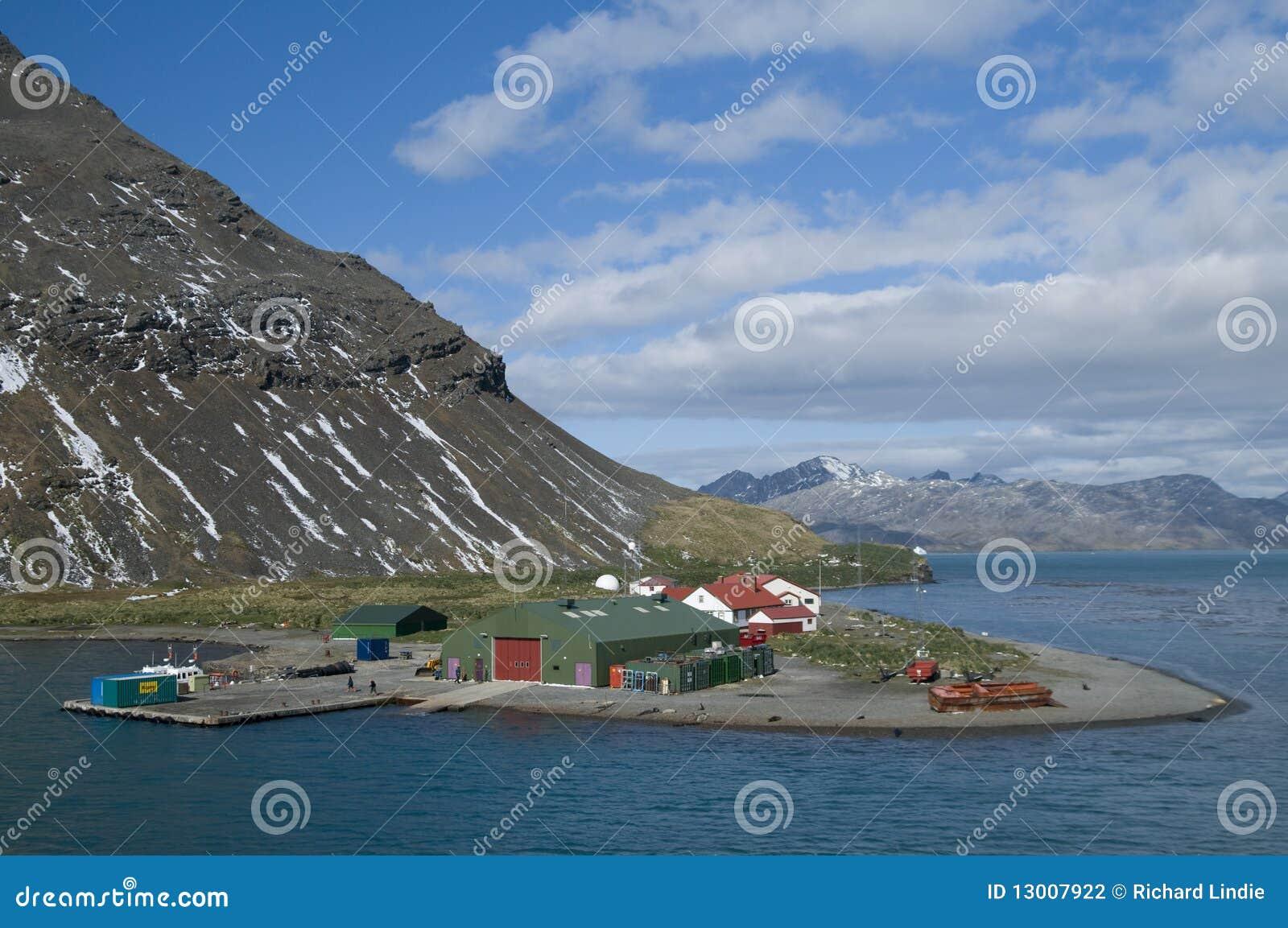 Grytviken Station - Südgeorgia