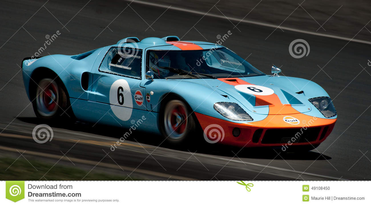 GT40 - Ford Racing Car