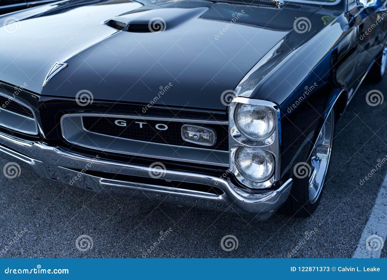 Gto Pontiac 1969 Foto De Stock Editorial Imagem De 1969 122871373