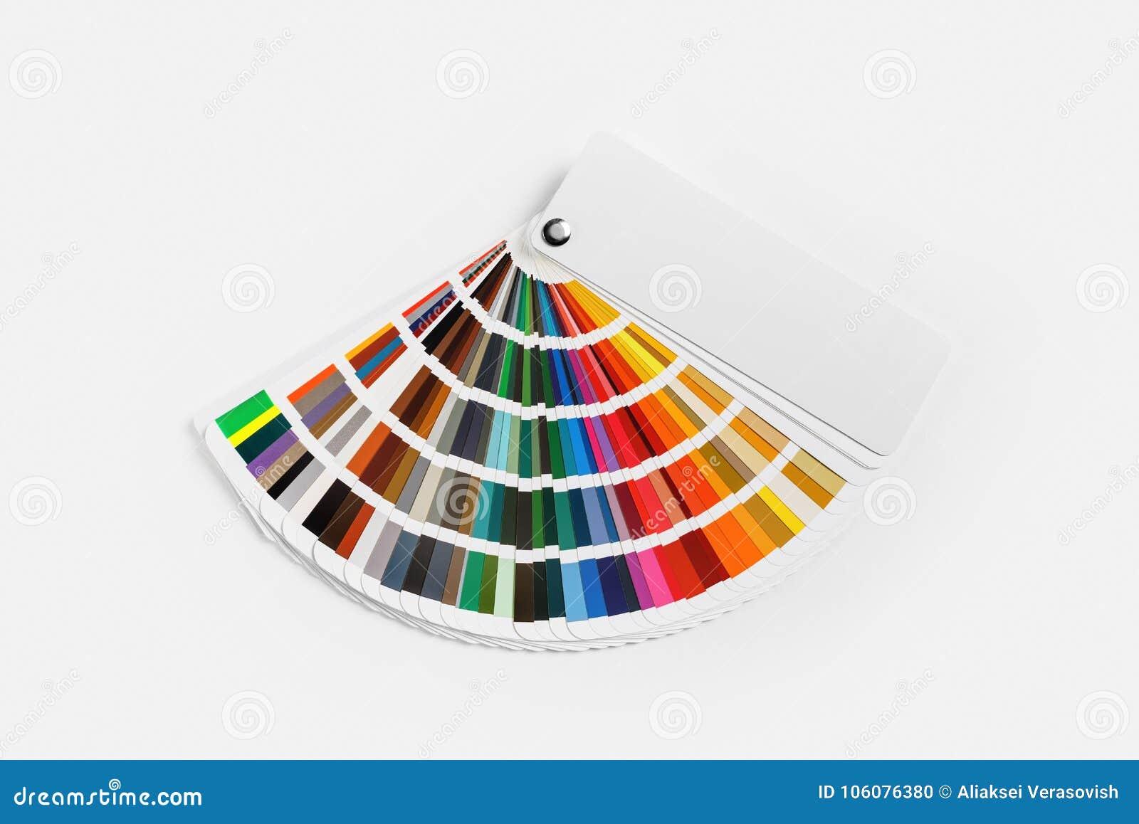 Guía de la gama de colores de color