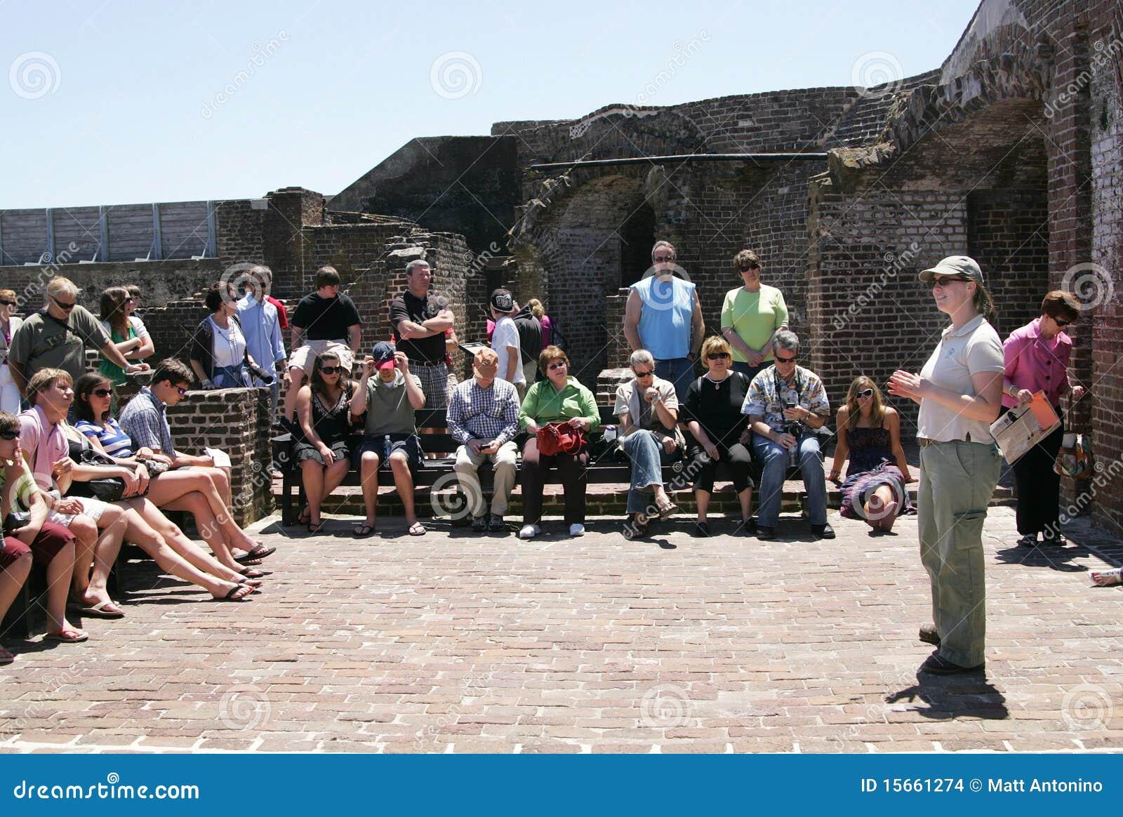 Guía turístico de la acémila de la fortaleza