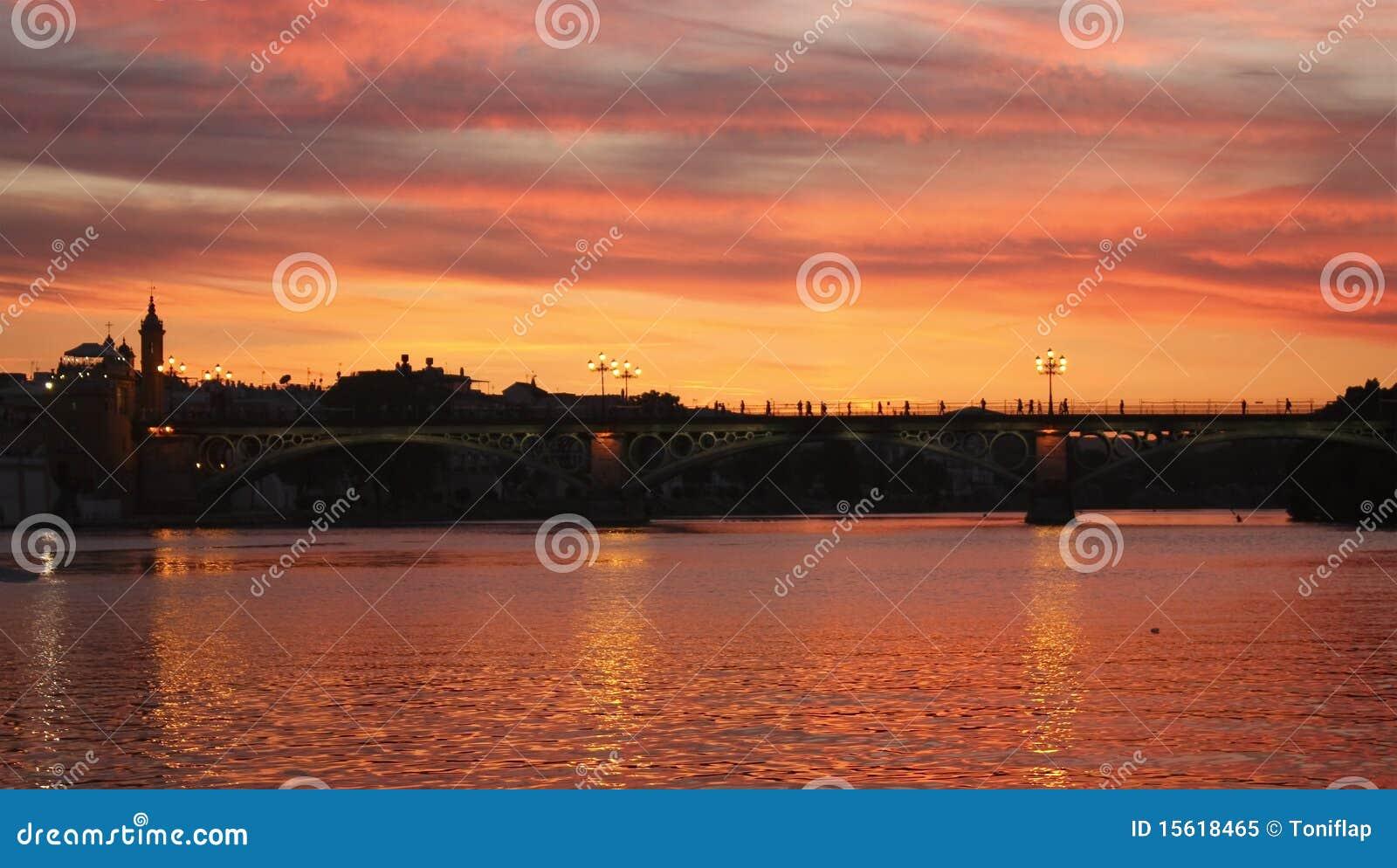 Guadalquivir日落