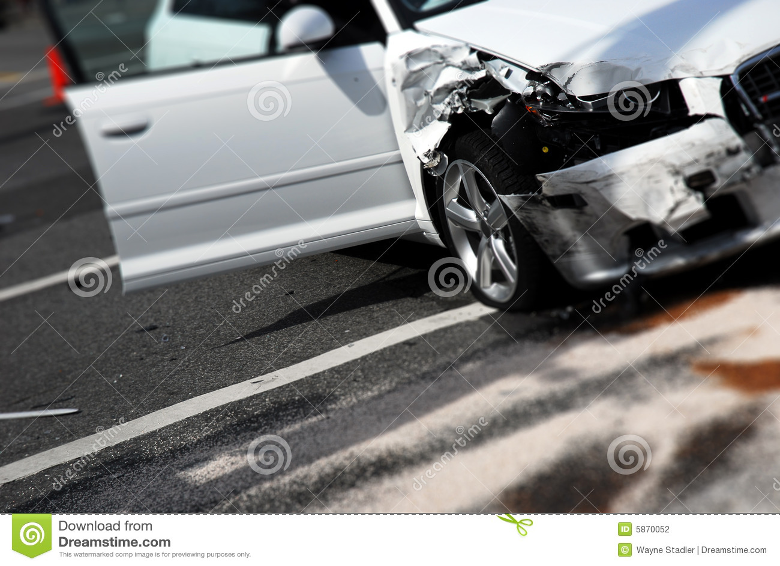Guaime di incidente stradale
