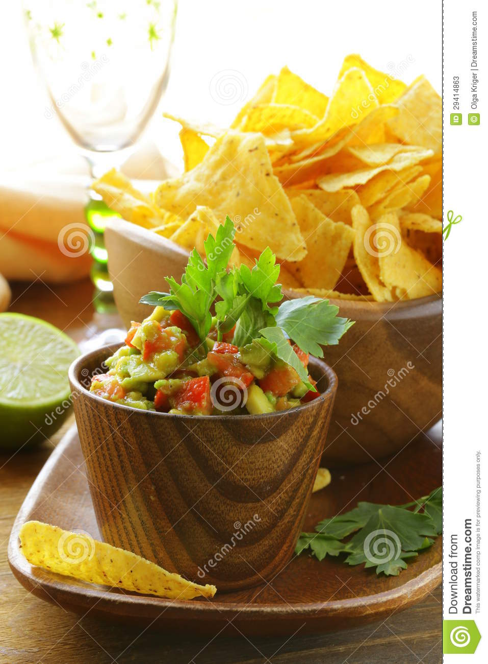 Crab And Avocado Dip On Tortilla Chips Recipes — Dishmaps