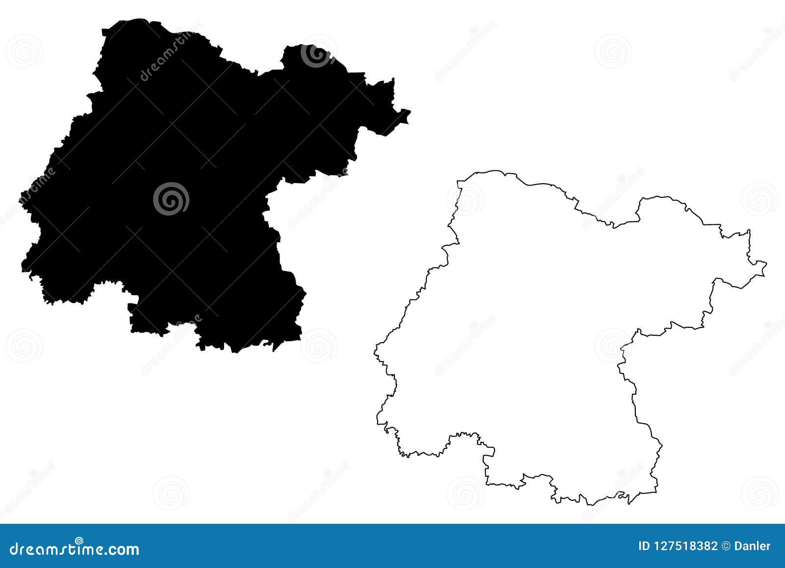 Mexico Map Guanajuato.Guanajuato Map Vector Stock Vector Illustration Of Country 127518382