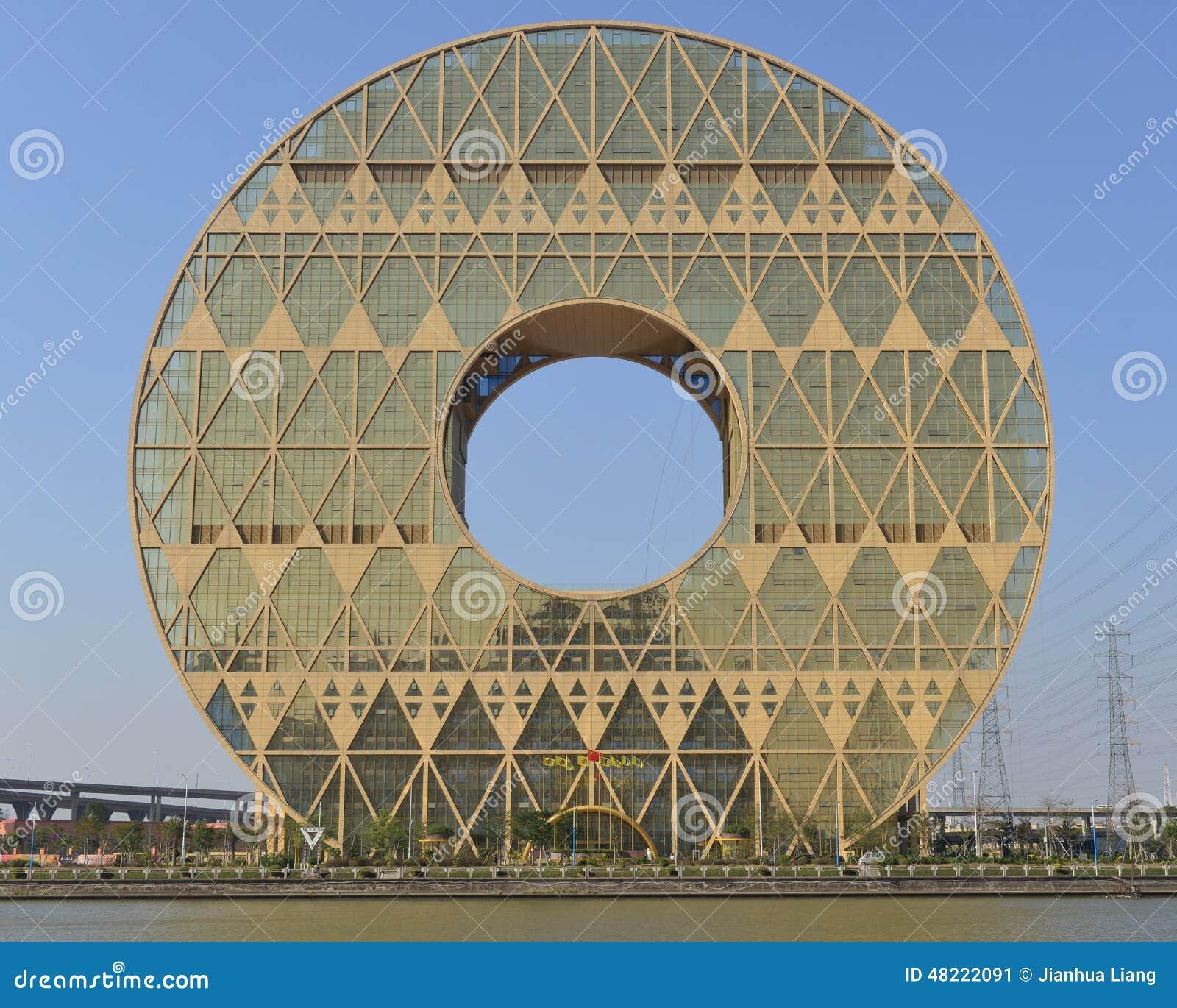 Guangzhou Circle Building Editorial Photo Image Of