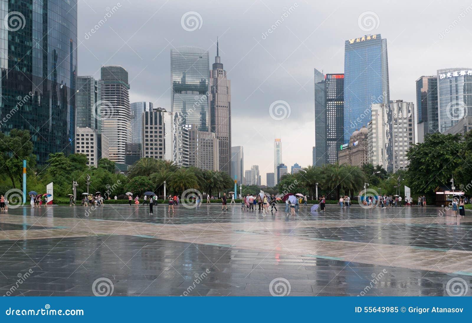 Guangzhou do centro, China