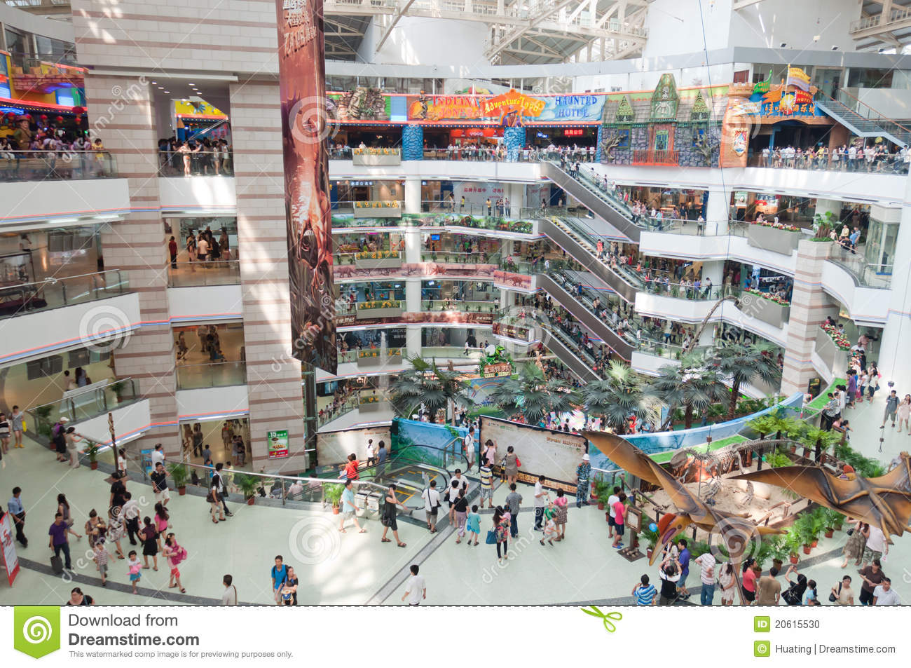 Guangzhou Grandview Mall Editorial Image Image 20615530