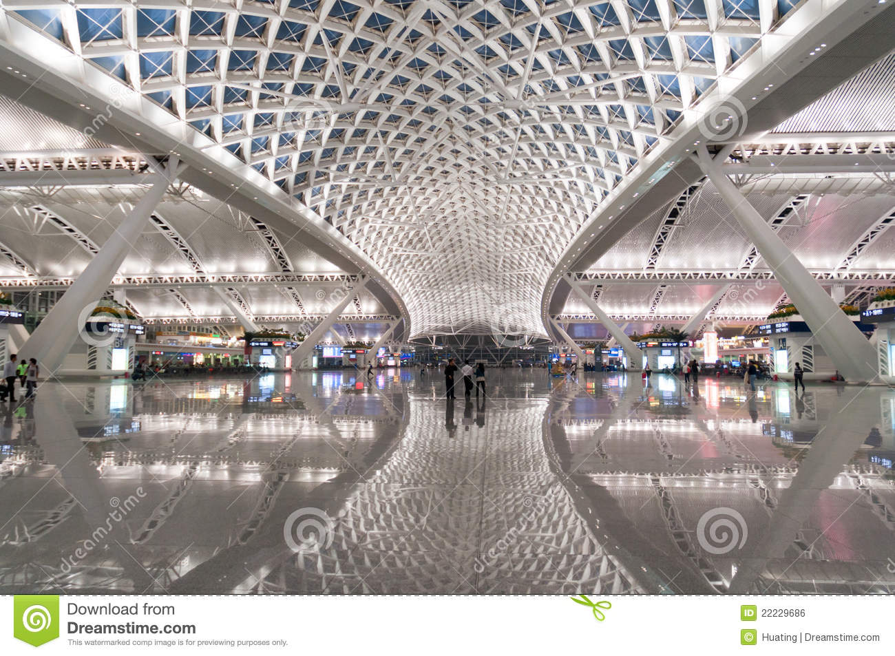 Guangzhou South Railway Station Editorial Photo Image