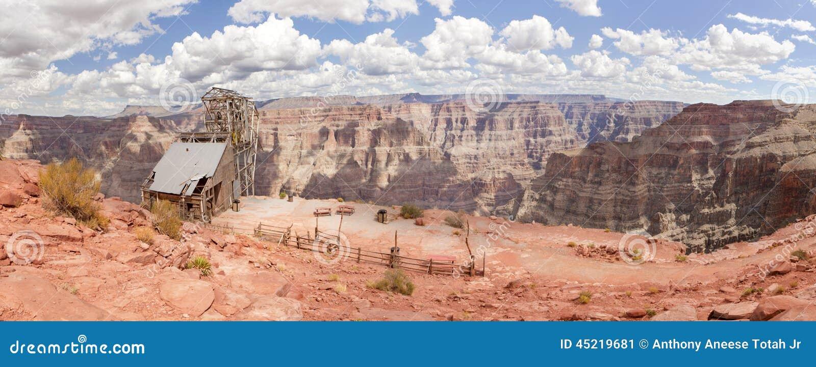 Guanopunkt - Grand Canyon (den västra kanten)