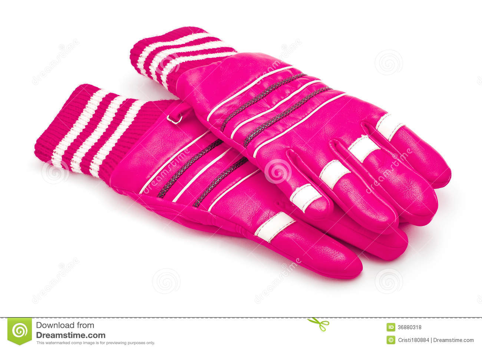 Download Guanti di inverno fotografia stock. Immagine di pink - 36880318