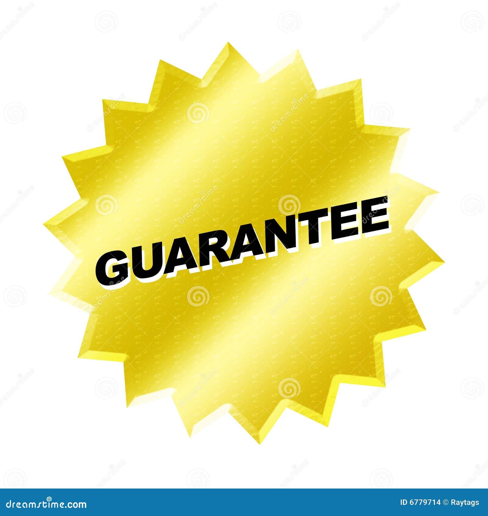 Guarantee Sign