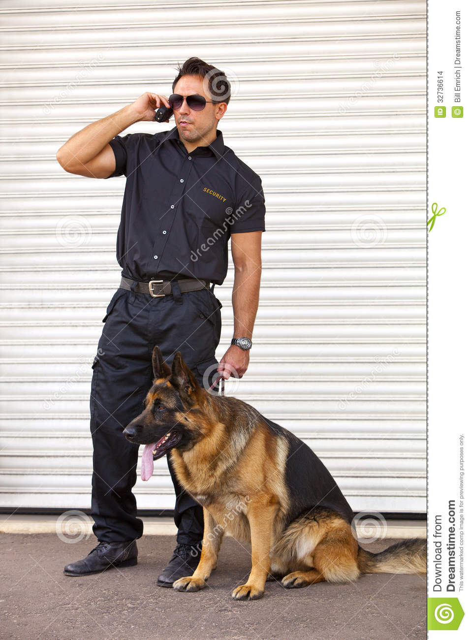 how to train a security dog