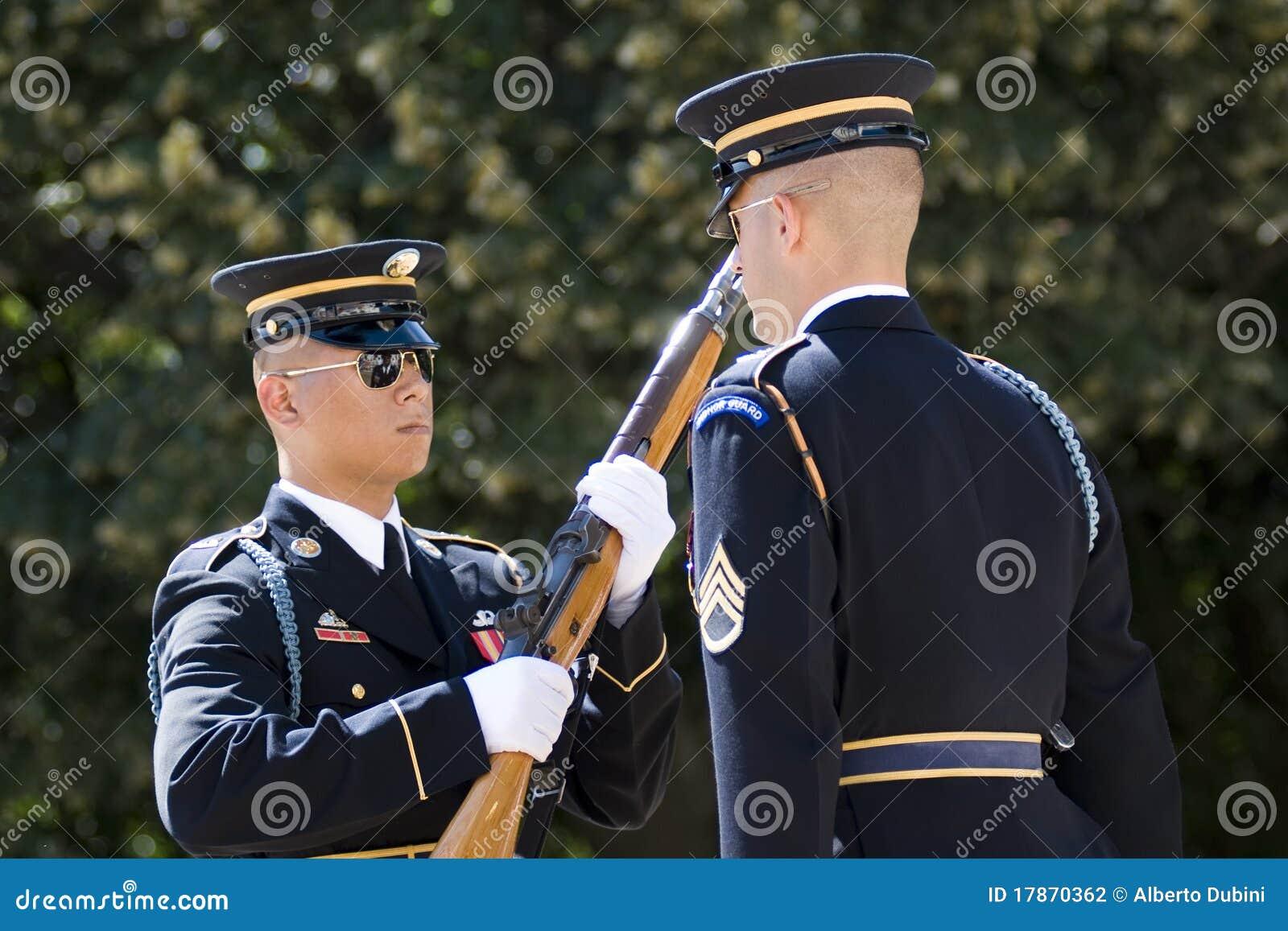 Guard för arlington kyrkogårdändring