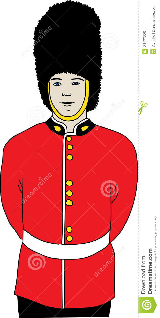 Guard Of Queen Royalty Free Stock Photo - Image: 24177225