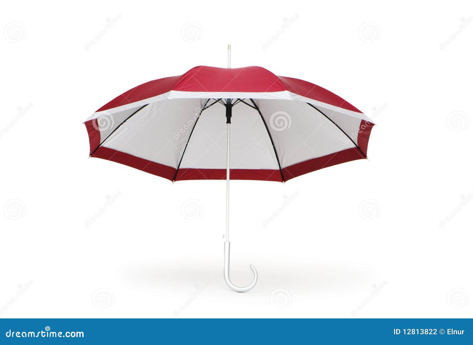 Guarda-chuva colorido isolado