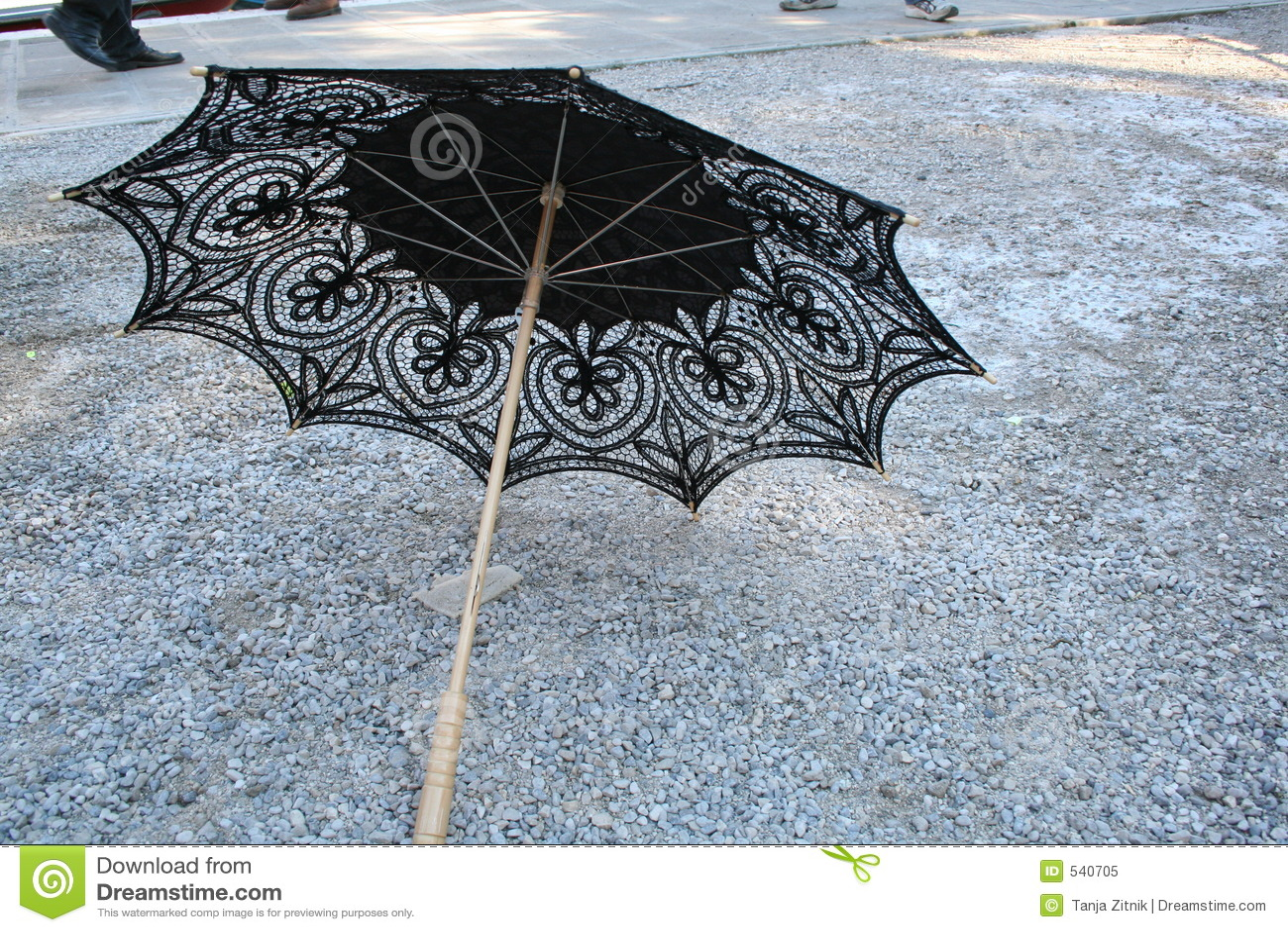 Guarda-chuva do laço