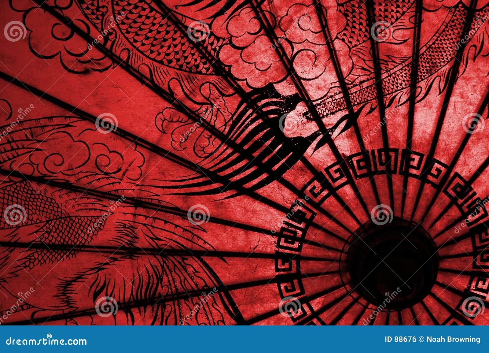Guarda Chuva Oriental Foto De Stock Imagem De Vermelho 88676