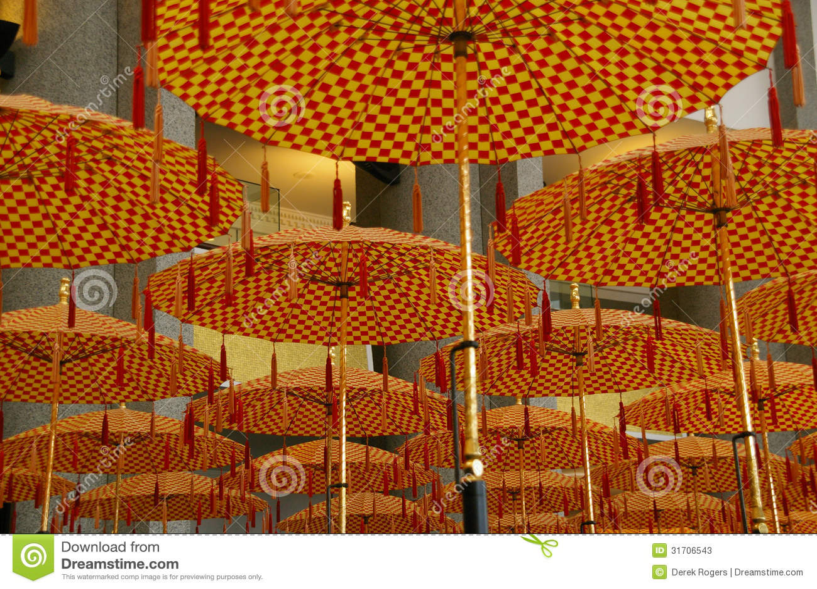 Guarda-chuvas Brunei Darussalam da parada