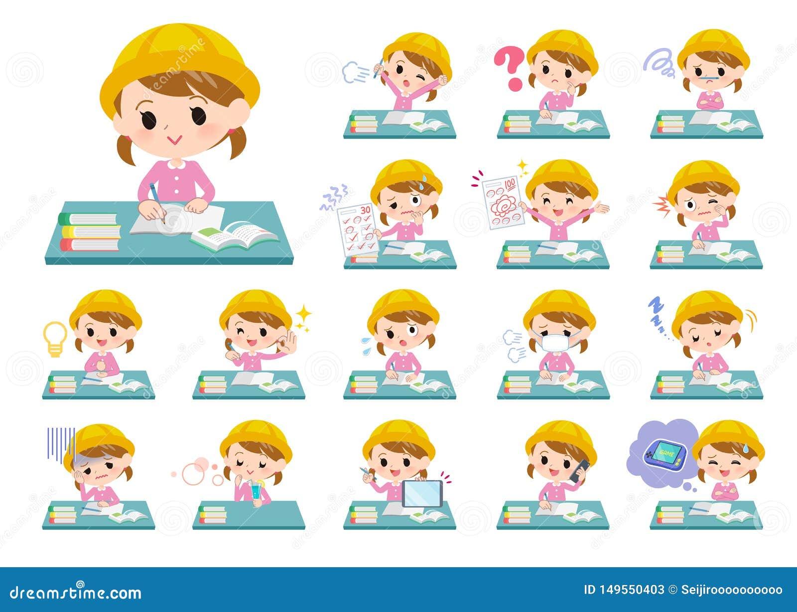 Guardería girl_study