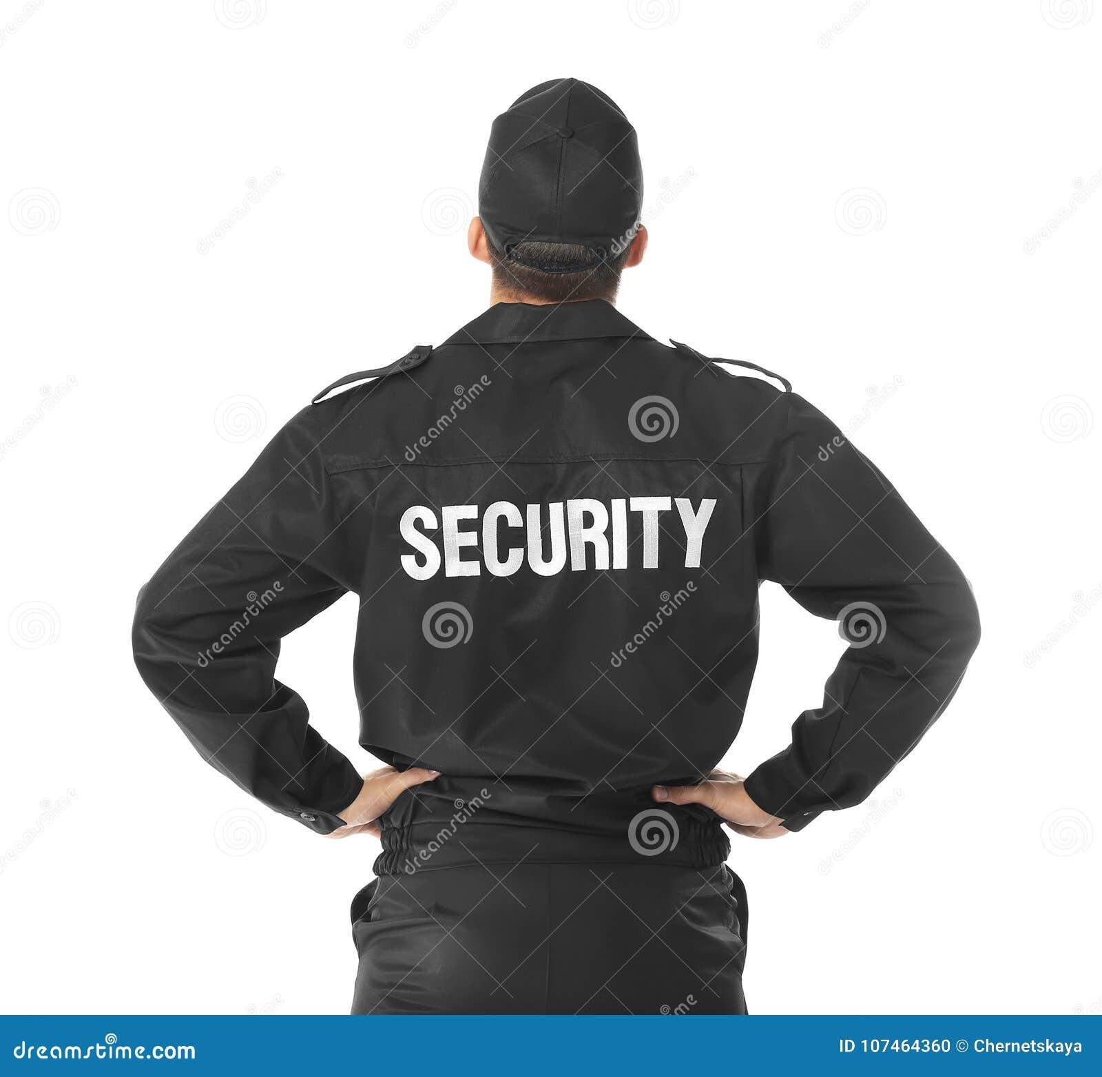 Guardia de seguridad masculino