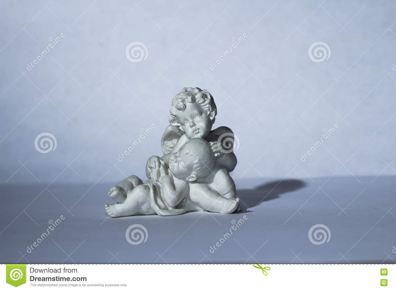 Guardian Angel And Child Stock Image Image Of Composition 78107231