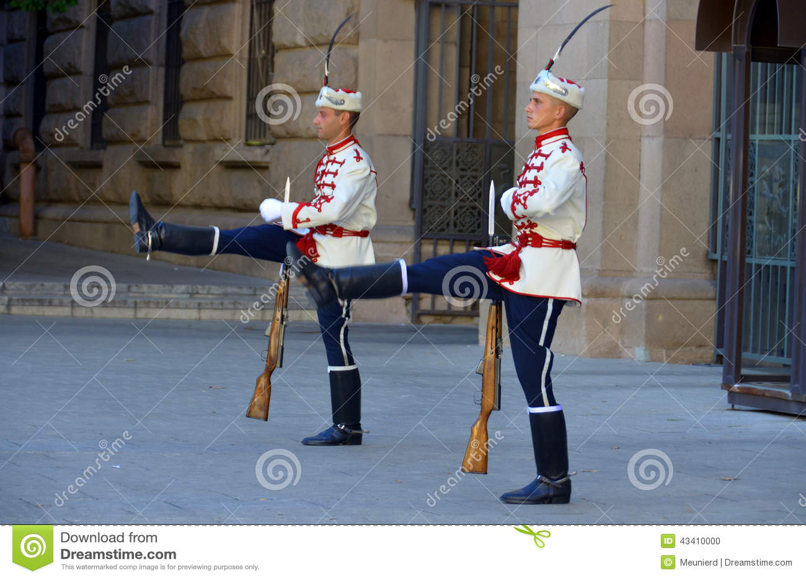 Guardias del honor