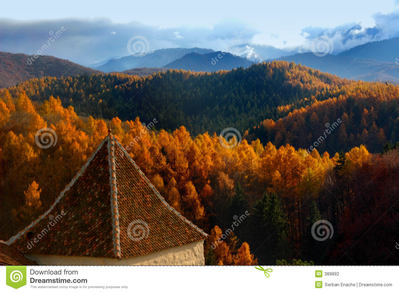 Download Guarding hills stock photo. Image of fortress, hill, autumn - 389892