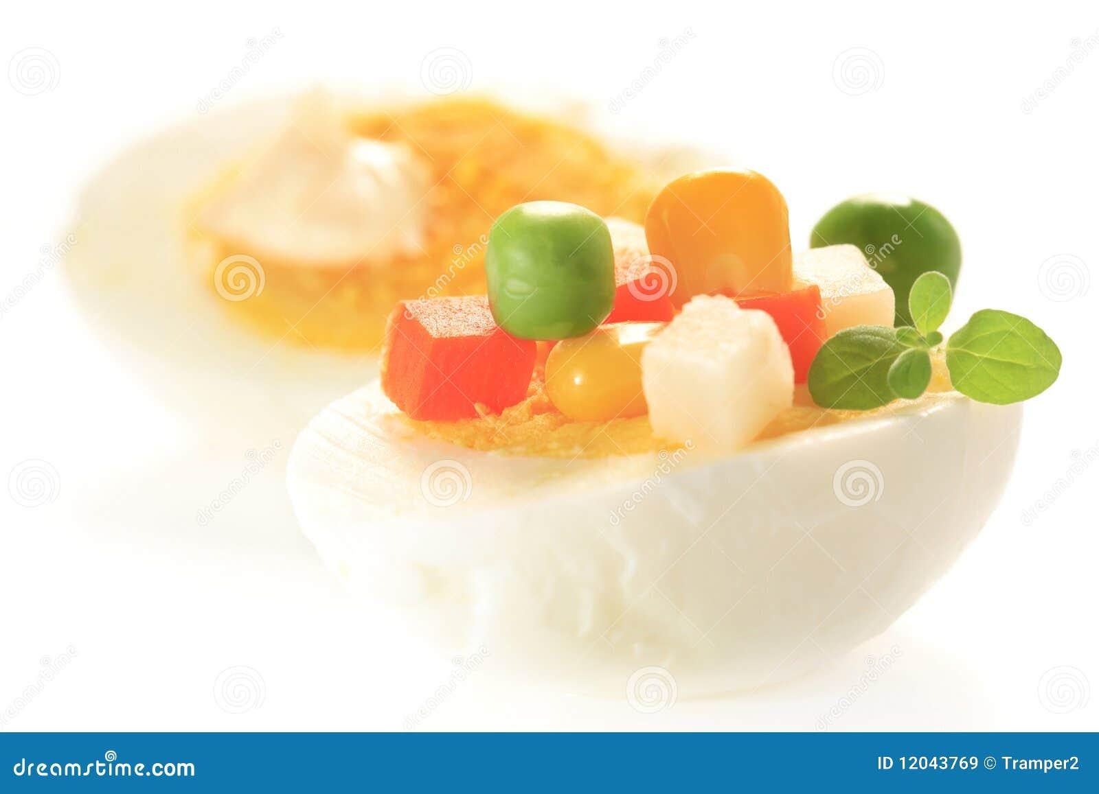 Guarnisca l uovo sodo