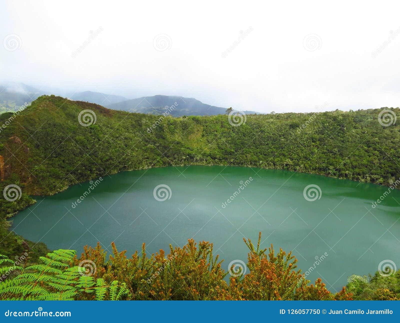 Lagoon or lake el dorado legend guatavita