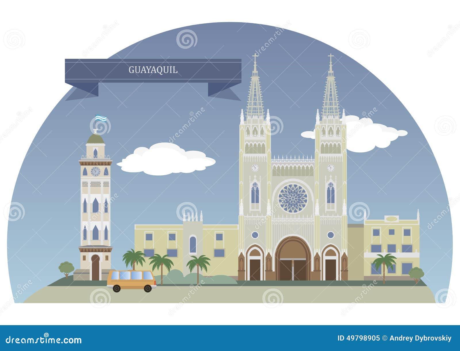 Guayaquil Ilustraciones Stock, Vectores, Y Clipart