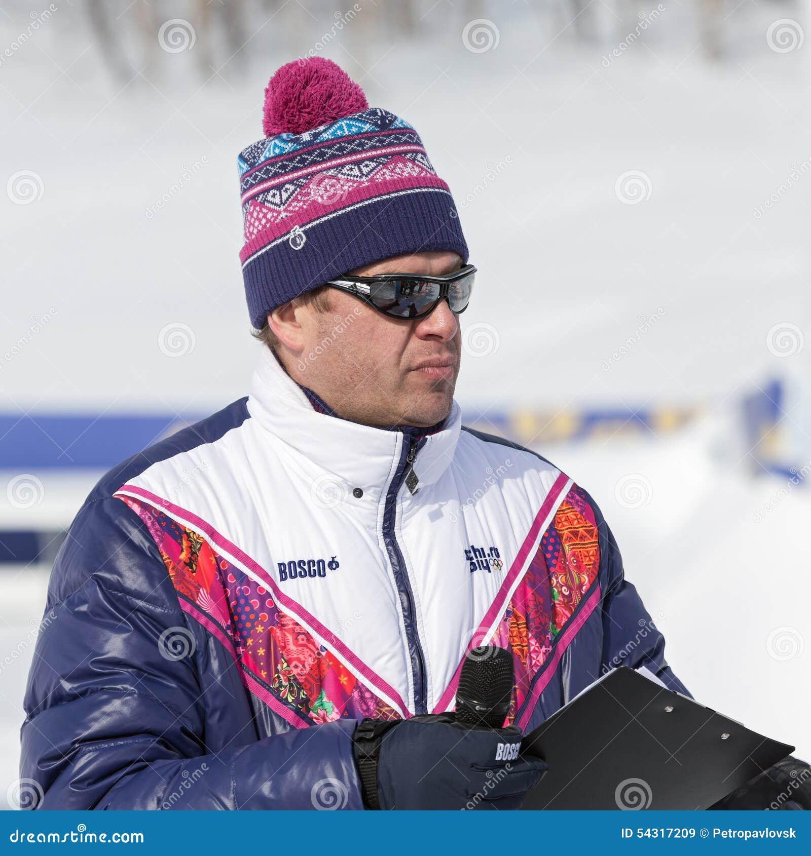 Guberniev Dmitry - presentador ruso de la TV, comentarista de los deportes