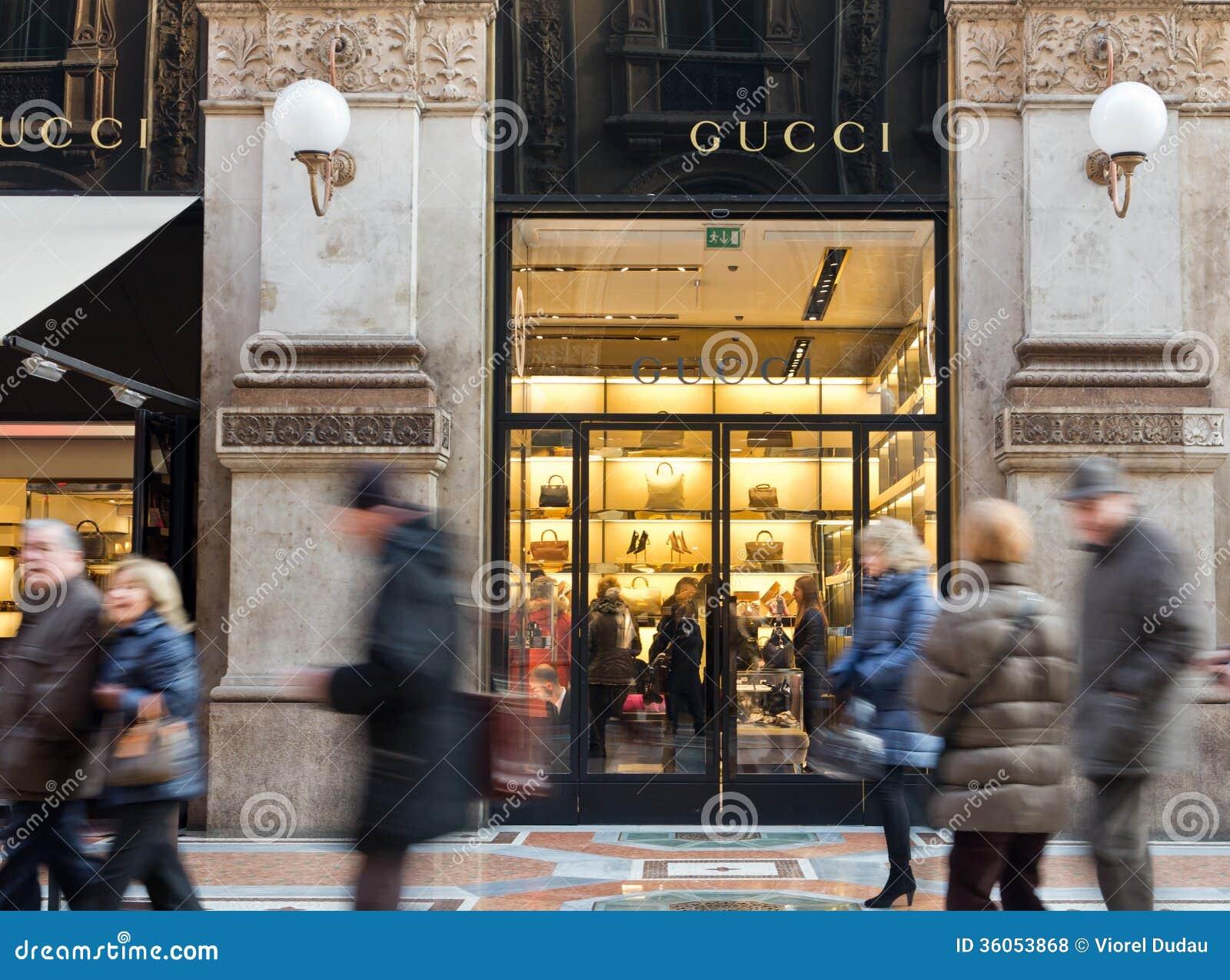 Gucci luksusu sklep