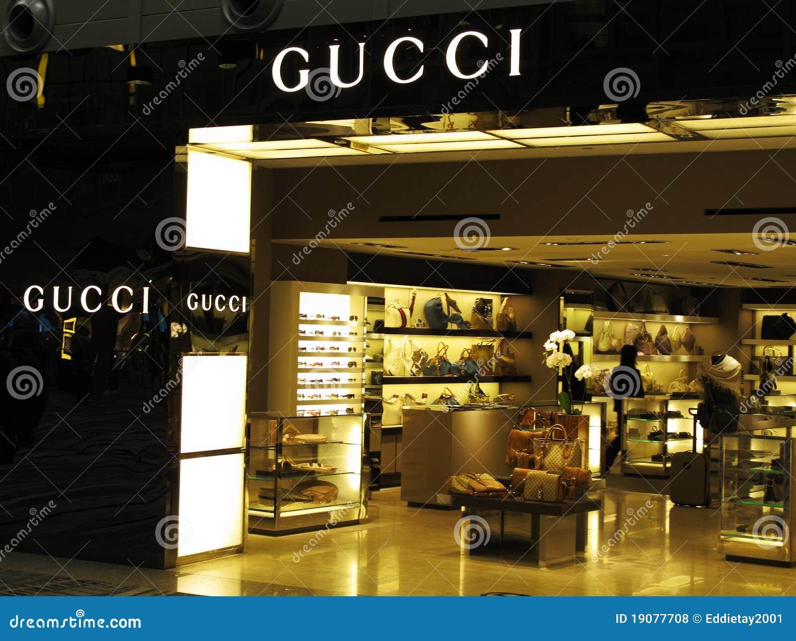 Gucci Luxury Brand Editorial Stock Photo Image 19077708