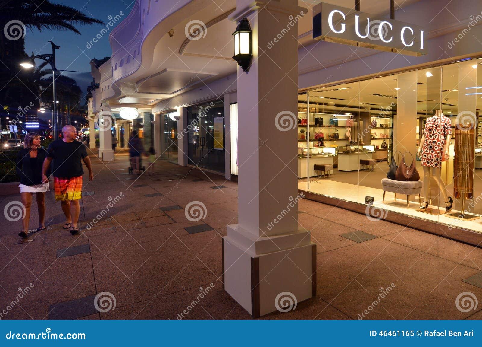 Gold Coast Bridal Shop Gold Coast: Gucci Shop In Gold Coast Queensland Australia Editorial