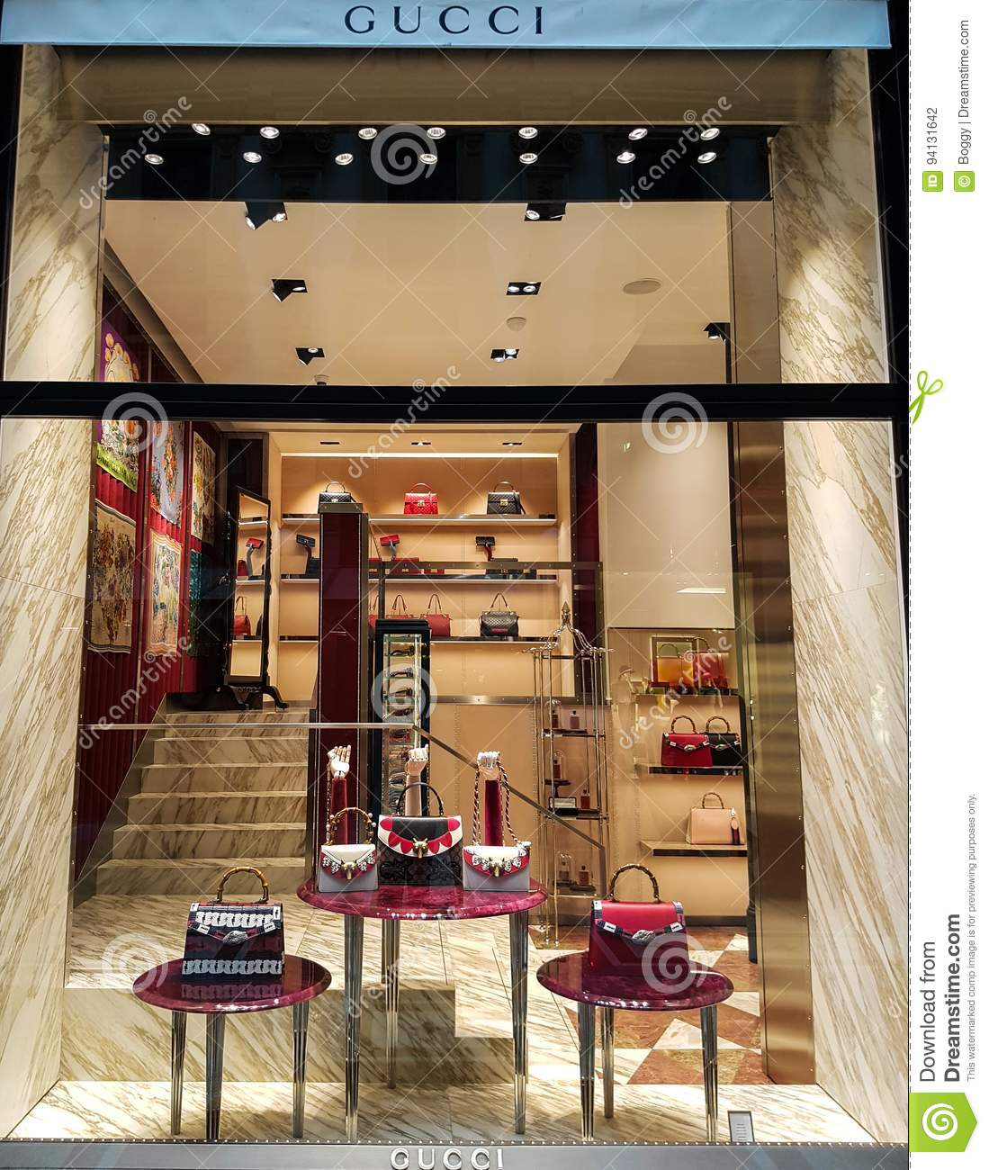 eef82fe5726 Gucci store editorial photography. Image of lifestyle - 94131642