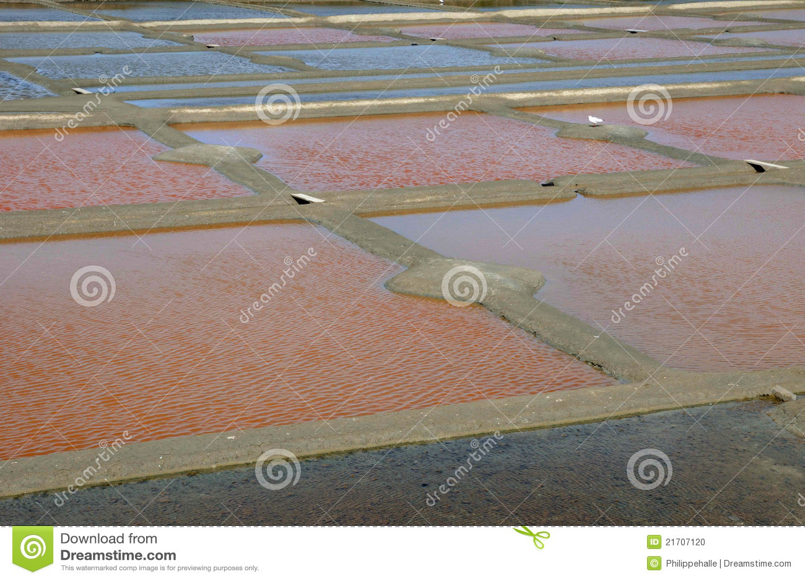 Guerande stock photo image 21707120 for Design of evaporation pond
