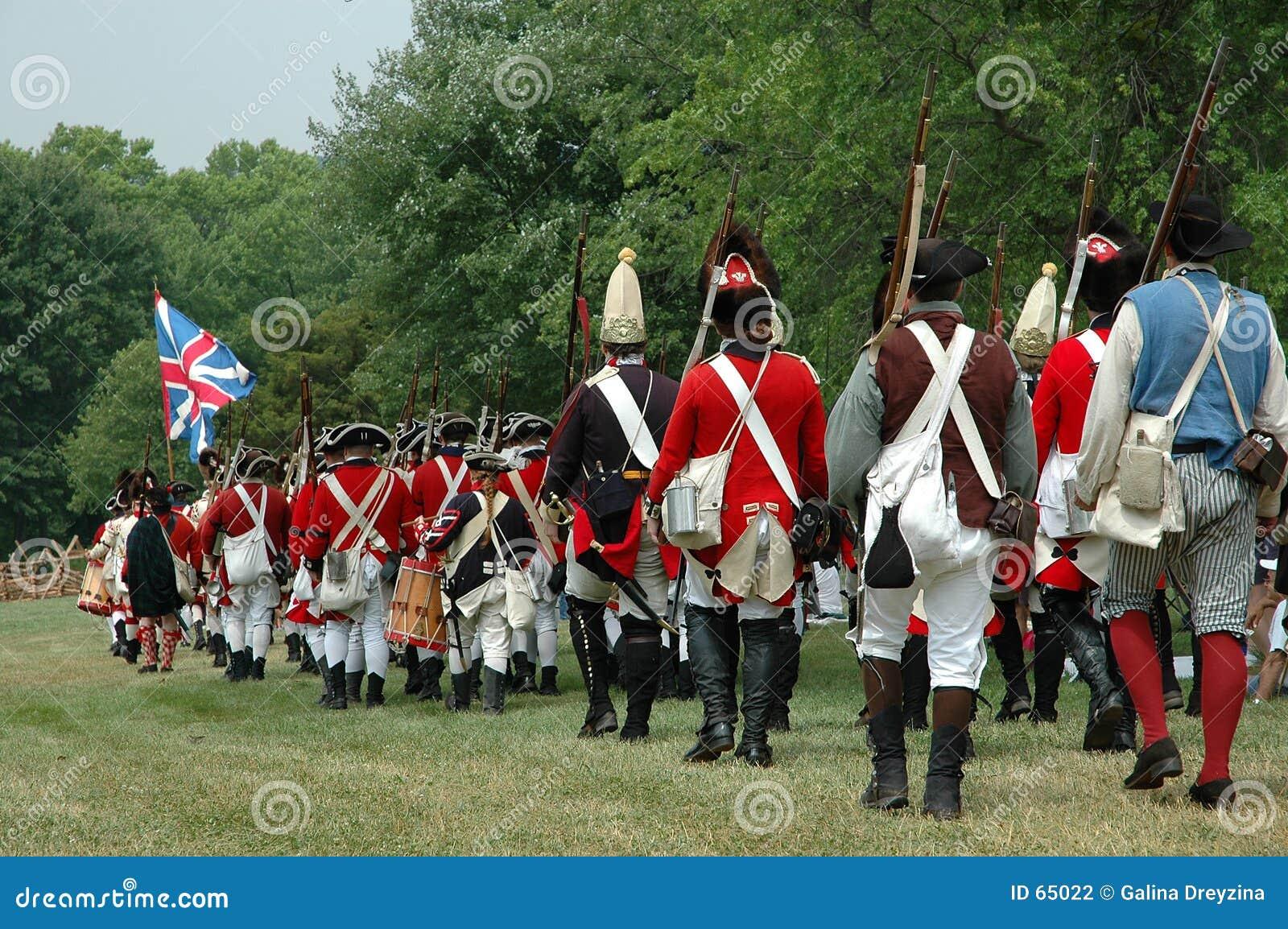 Guerre révolutionnaire de l indépendance - préparez pour le buttle