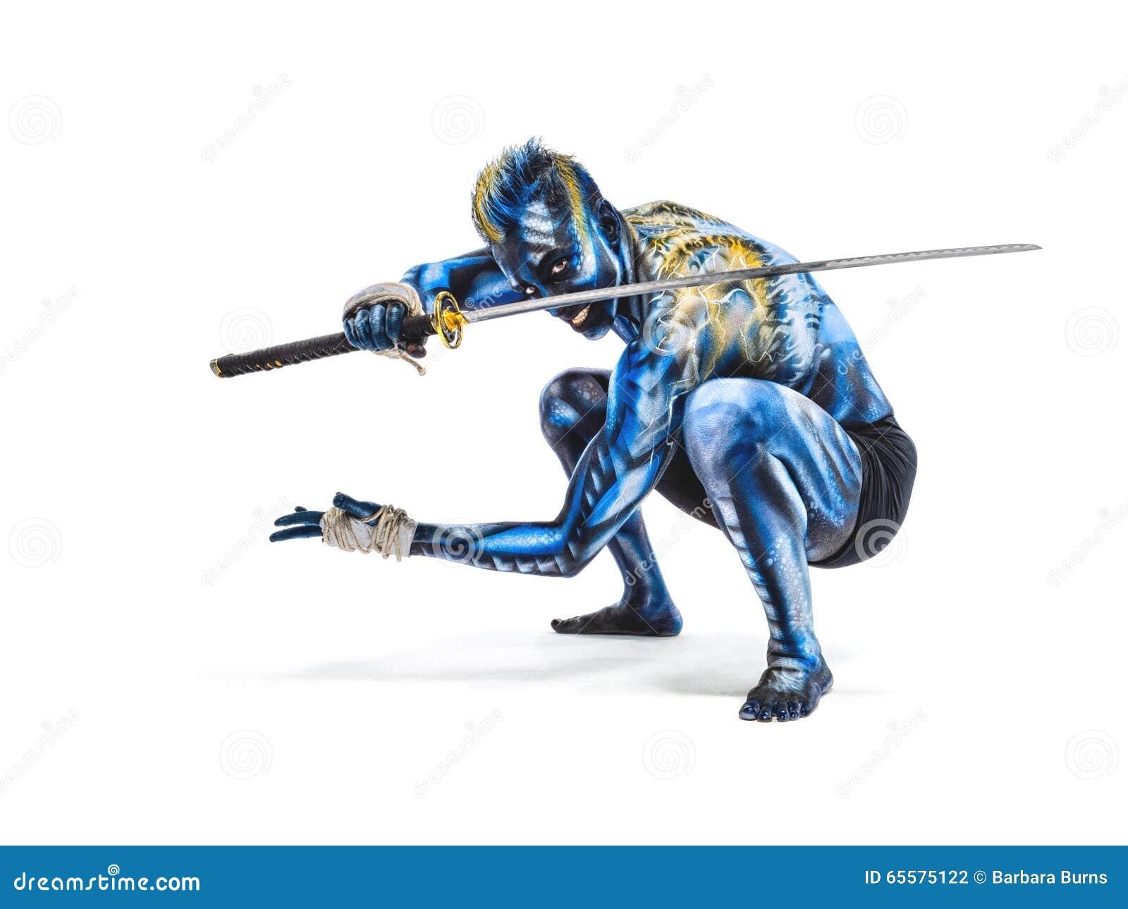 Guerreiro pintado BB147955