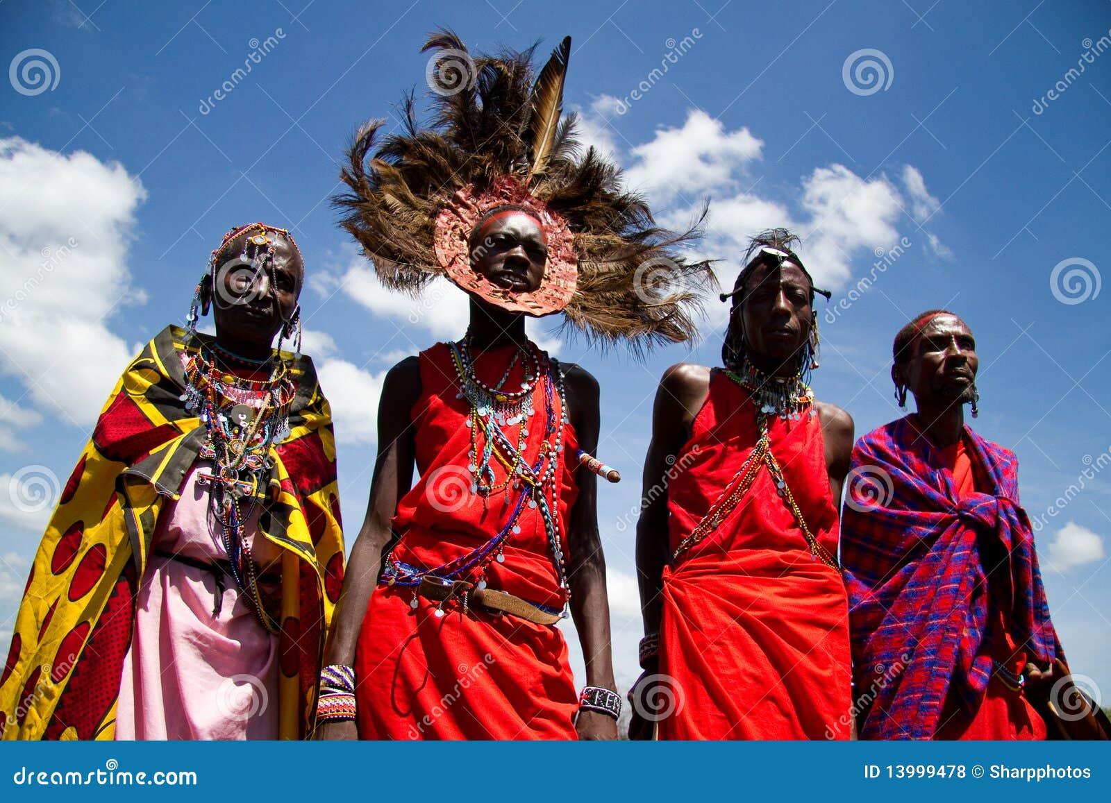 Guerreiros do Masai