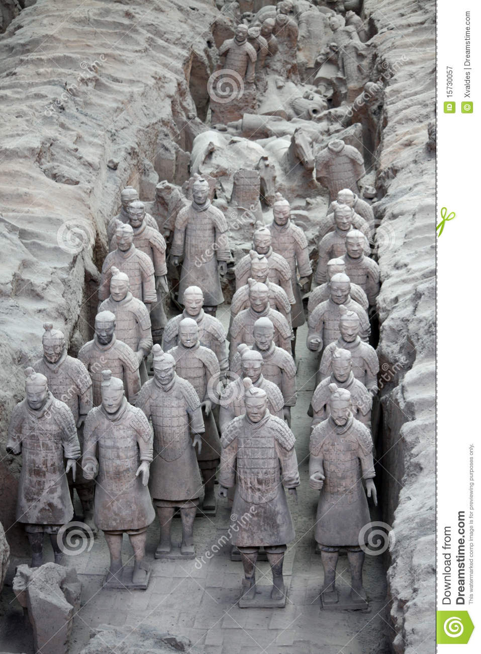 Guerreros de la terracota, China