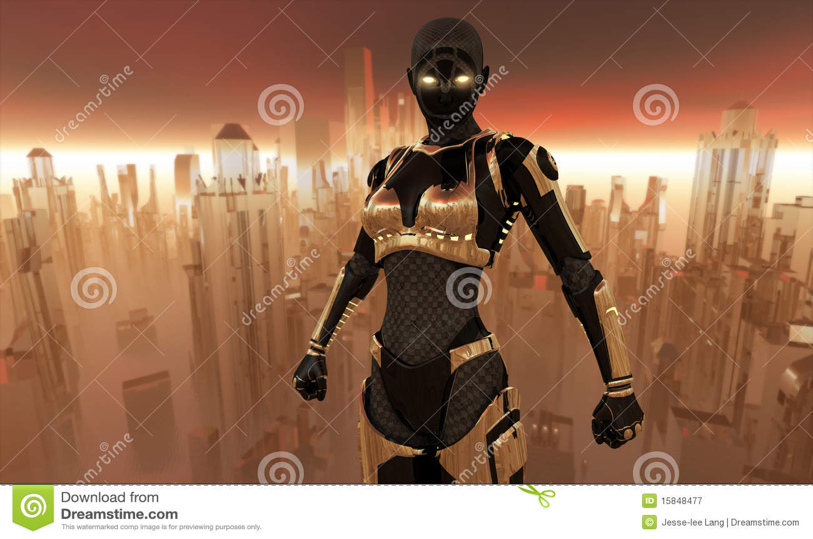Guerrier de Cyborg