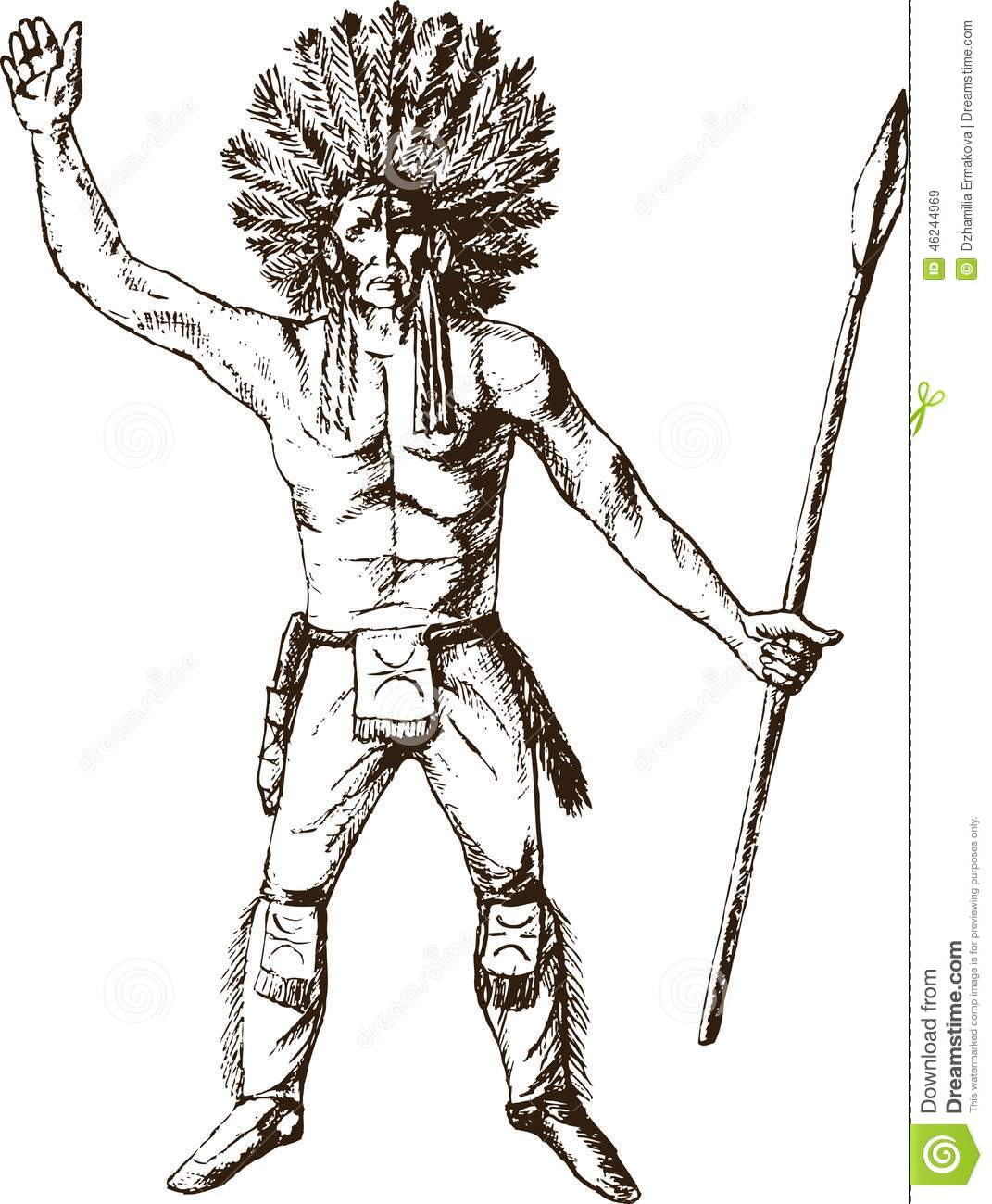 Native American Art Coloring Page