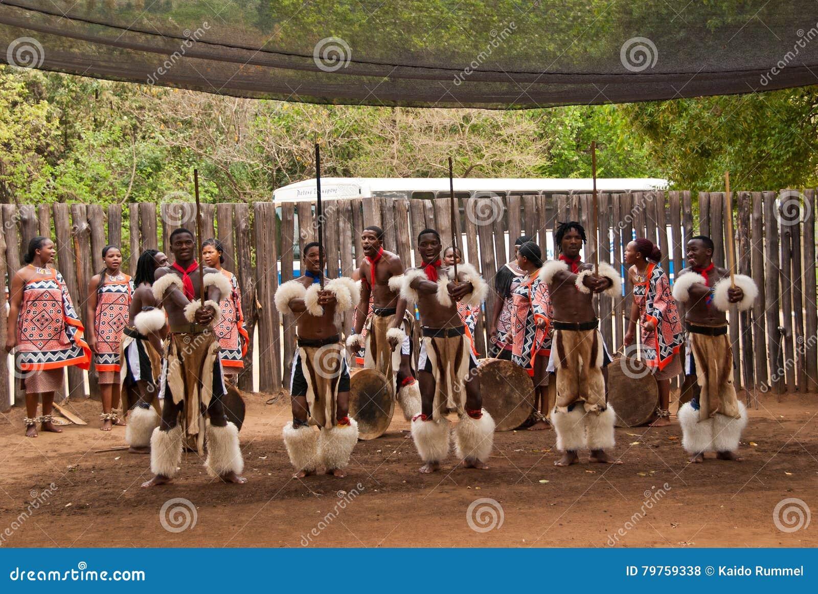 Guerriers de Swazi