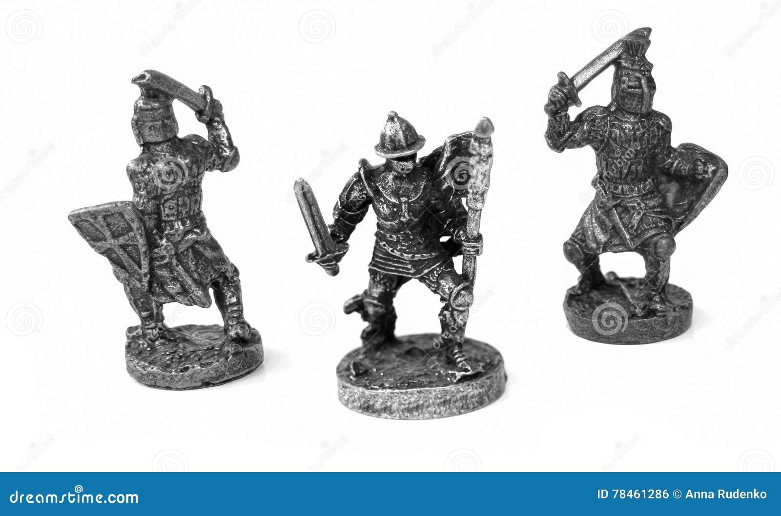 Guerriers en métal