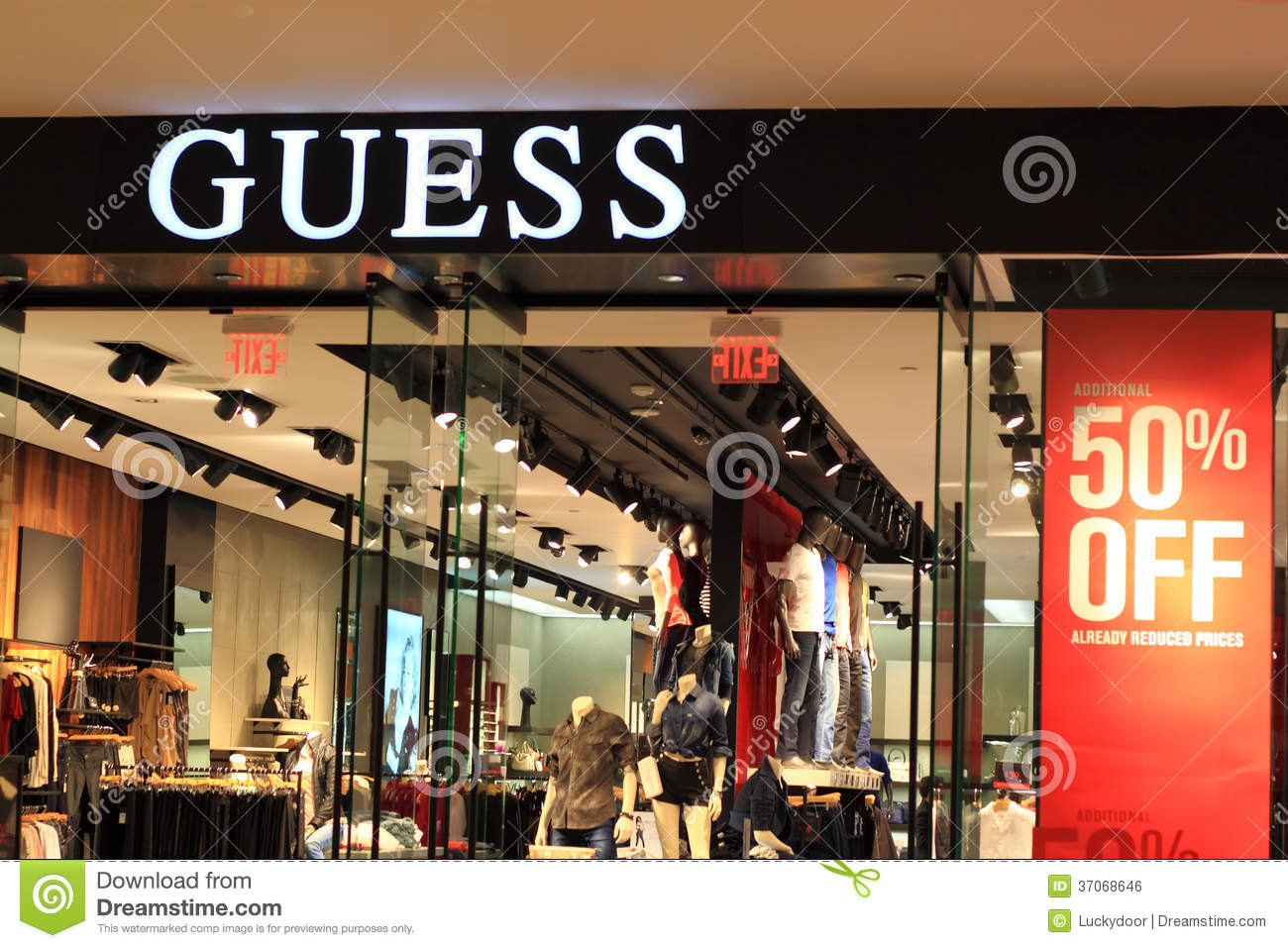 Guess is American upscale clothing line brand. Guess also markets