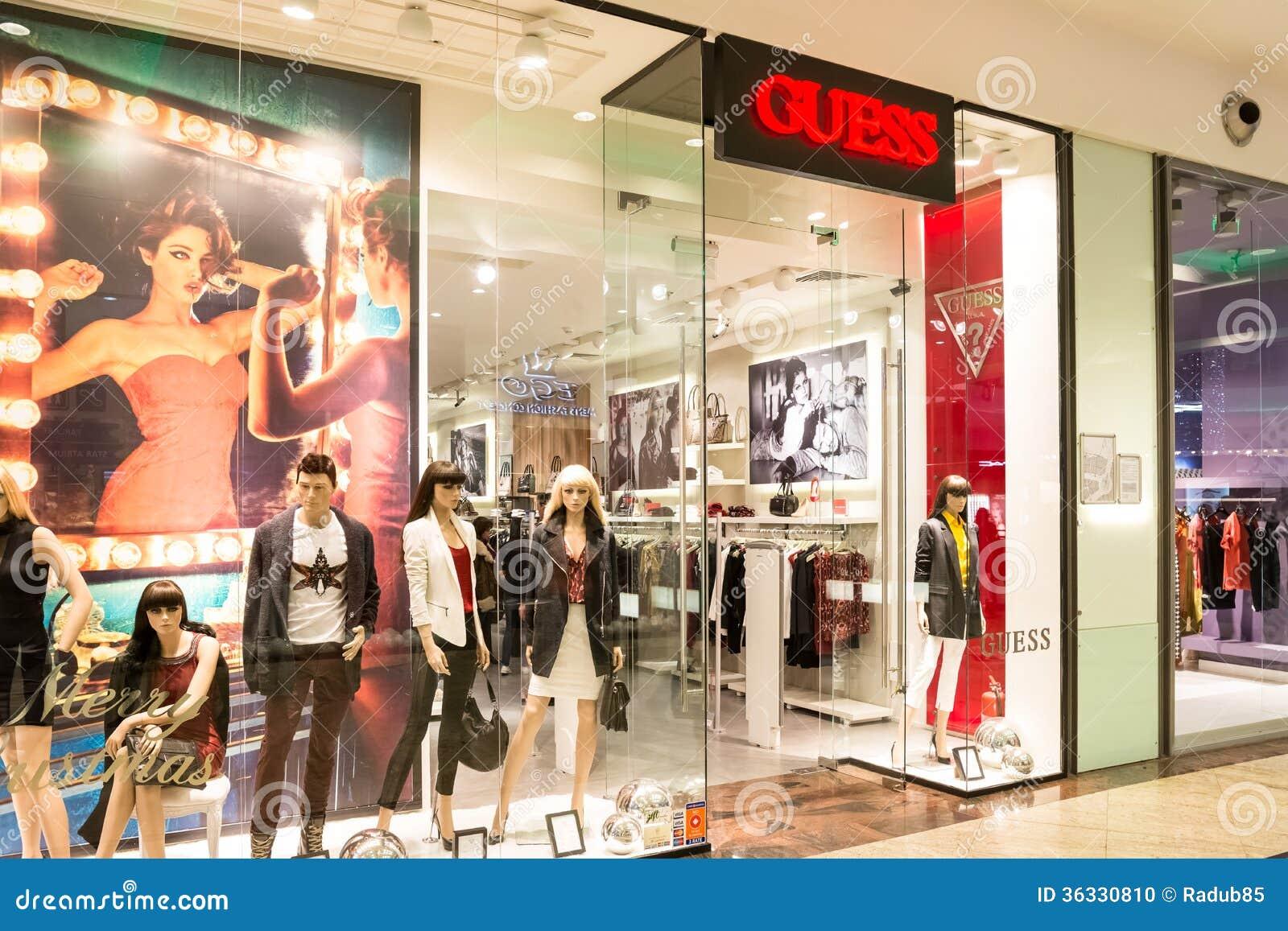 Guess clothes shop online